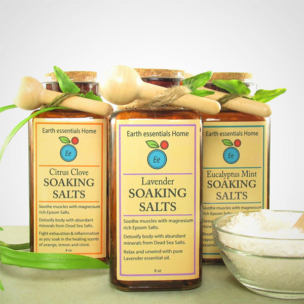 Handcrafted Soaking Salts