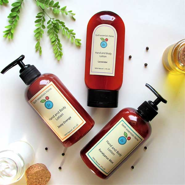 Earth Essentials Home Lotions